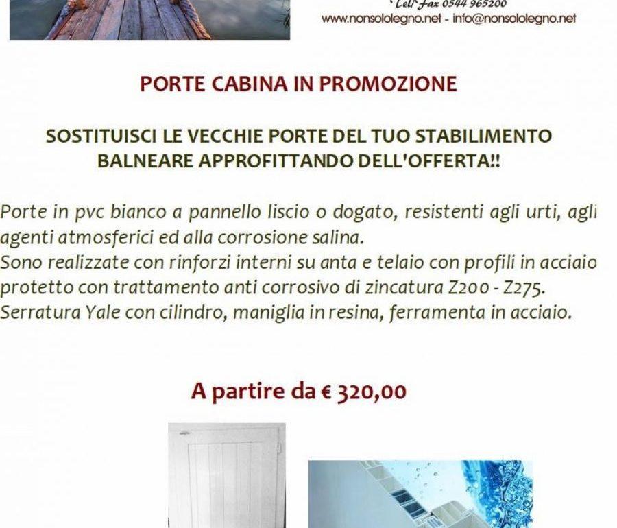 Porte Cabina in Promozione