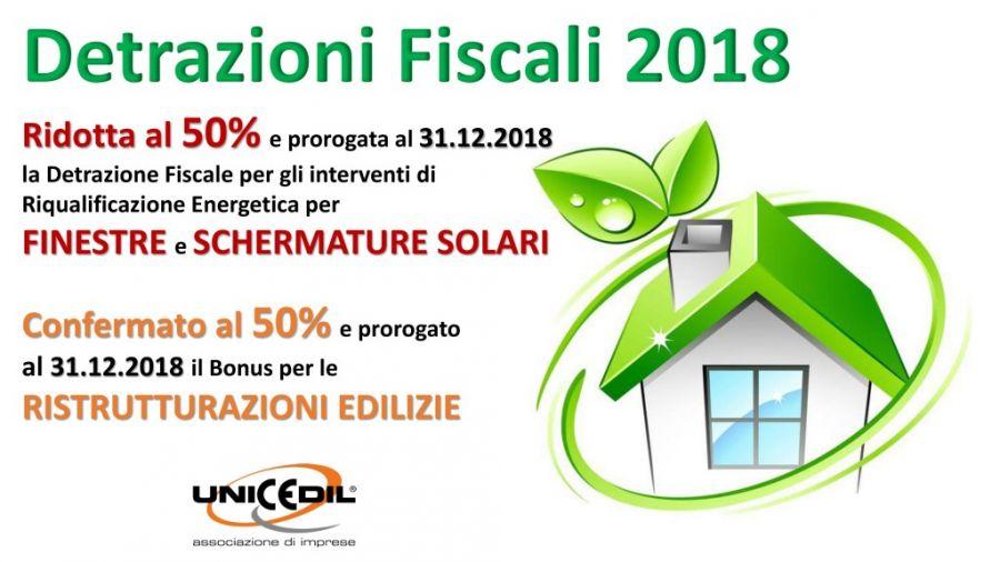 Bonus Fiscali 2018